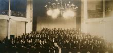 Chor und Orchester des Würzburger Sängervereins (Bild von 1927)