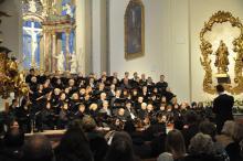 Adventskonzert des Valentin-Becker-Chors 2017 in der Kirche St. Peter und Paul