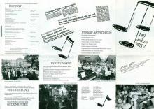 Flyer zur 140-Jahr-Feier, zusammengestellt von Käthe und Arnold Roth