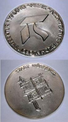 Kulturmedaille 2011 der Stadt Würzburg für den Würzburger Sängerverein